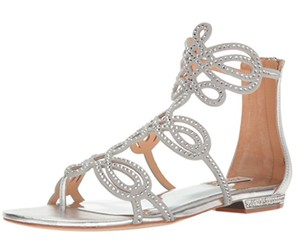 Badgley Mischka SilverNew with tags Sandals