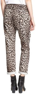 Rag & Bone Animal Print Boyfriend Cut Jeans