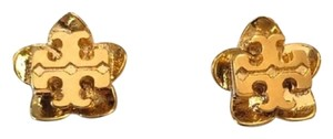 Tory Burch NEW Tory Burch Cecily Gold Flower Stud Earrings