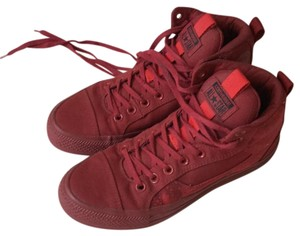Converse red Athletic
