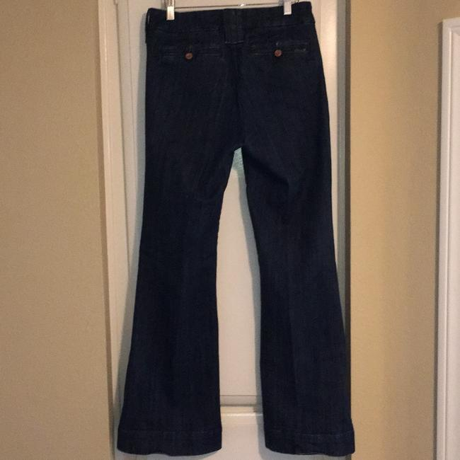 Seven7 Boot Cut Jeans-Dark Rinse Image 1