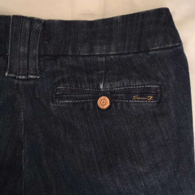 Seven7 Boot Cut Jeans-Dark Rinse Image 2