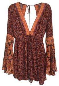 Free People Summertime Once Upon Bell Sleeve Dress