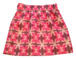 J.Crew Skirt Pink, brown, cream