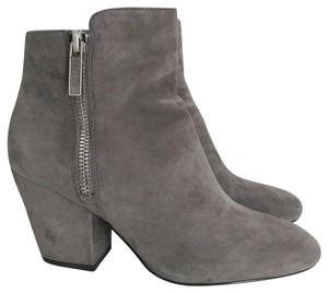 1.STATE Jacend Zip Ankle Grey Boots