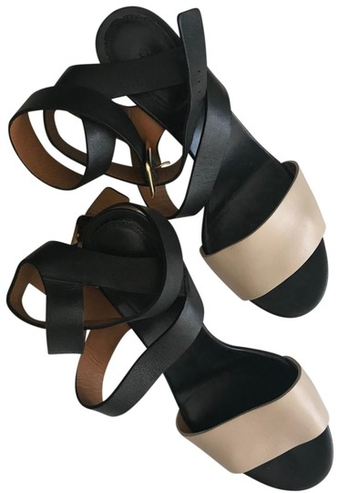 Preload https://img-static.tradesy.com/item/23456353/chloe-black-and-nude-two-tone-sandals-size-us-7-regular-m-b-0-1-540-540.jpg