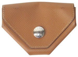 Hermès Le Van Cattle Chevre Slim Coin Jewelry Accessory Purse Wallet
