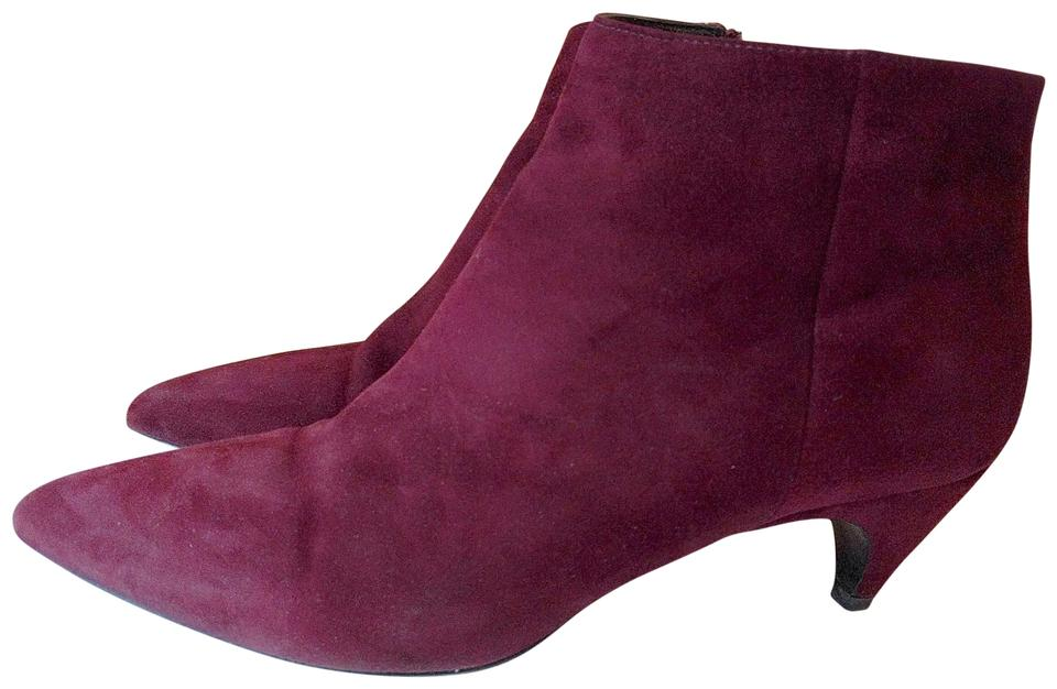 women Prada Dark Red Suede surface Boots/Booties Easy to clean surface Suede cdf814