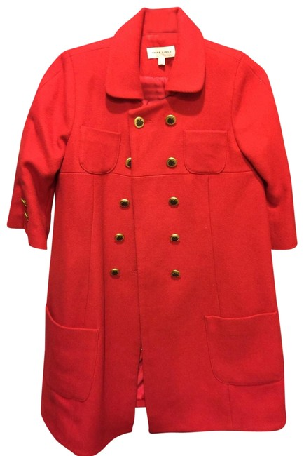 Anthropologie Red Coat Size 0 (XS) Anthropologie Red Coat Size 0 (XS) Image 1