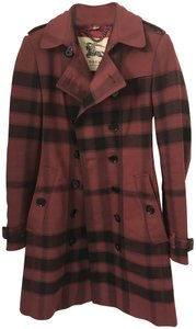 Burberry Check Trench Coat