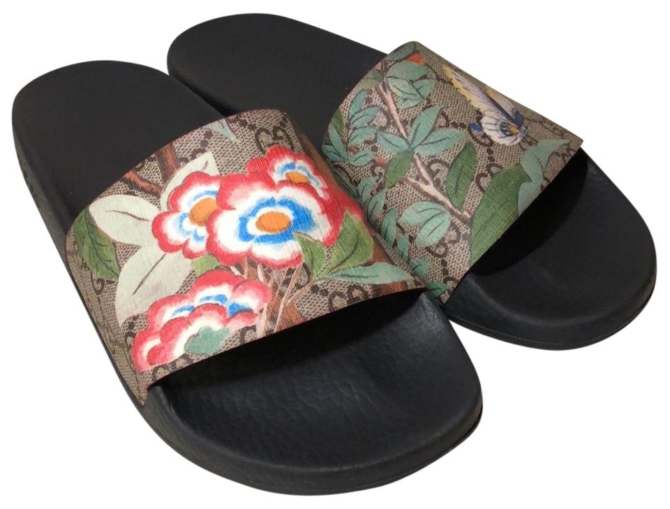 b22749406 Gucci Tian Slide Sandals Size EU 38 (Approx. US 8) Regular (M
