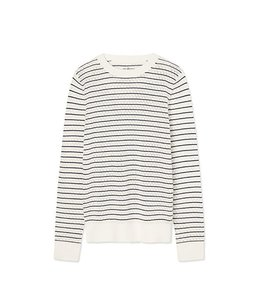 Tory Sport by Tory Burch Performance Merino Pointelle Sweater