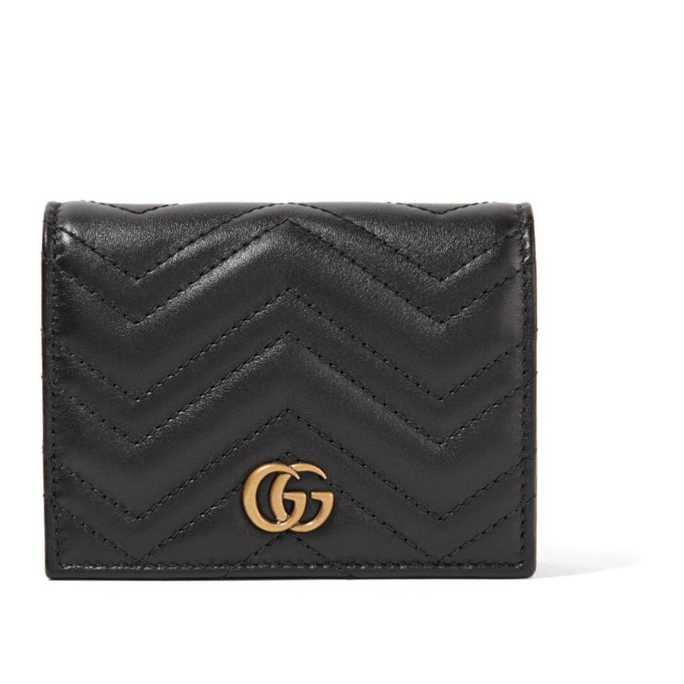 bca6acf8baad Gucci Marmont quilted leather small wallet Image 0 ...
