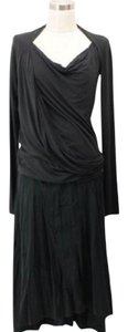 Donna Karan Top Dark Gray