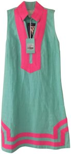 f1dfb95649a Sail to Sable short dress Cabbage Green and Pink on Tradesy
