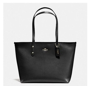 Coach Shoulder 36875 Satchel 36876 Tote in black