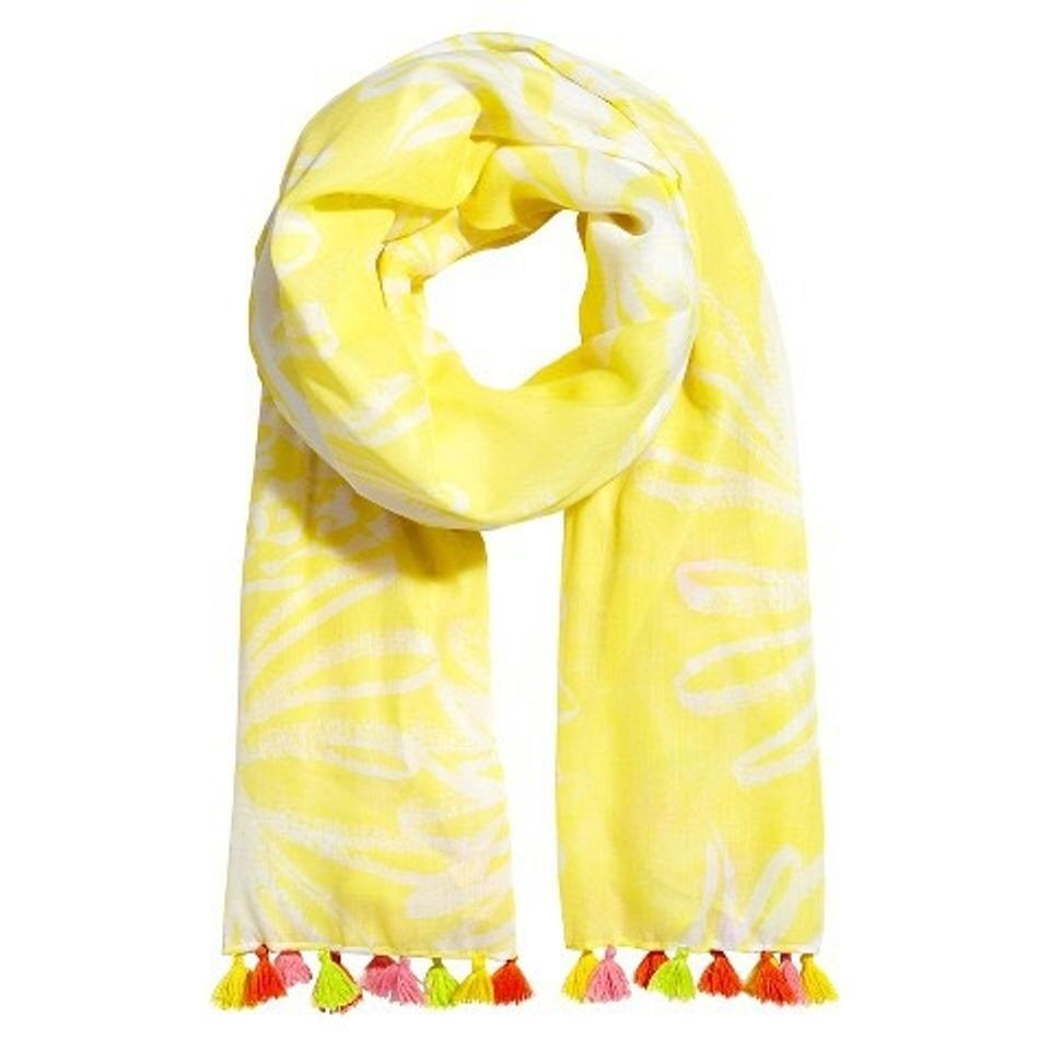 191dce75f Lilly Pulitzer Lilly Pulitzer for Target Women's Scarf - Pineapple Punch  Image 0