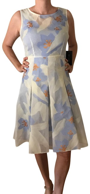 Item - Periwinkle Fit and Flare Mid-length Cocktail Dress Size 4 (S)