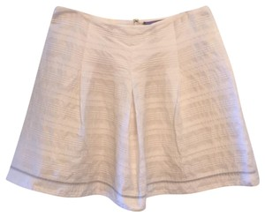 Vera Wang Lavender Label Mini Skirt white