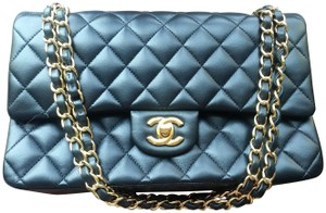 Chanel Classic Double Flap Classic Double Flap Classic Leather Shoulder Bag