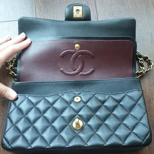 Chanel Classic Double Flap Classic Double Flap Classic Leather Shoulder Bag Image 5