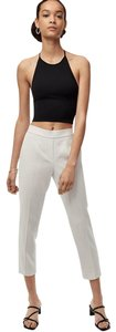Aritzia Babaton Crop Summer Capri/Cropped Pants GREY