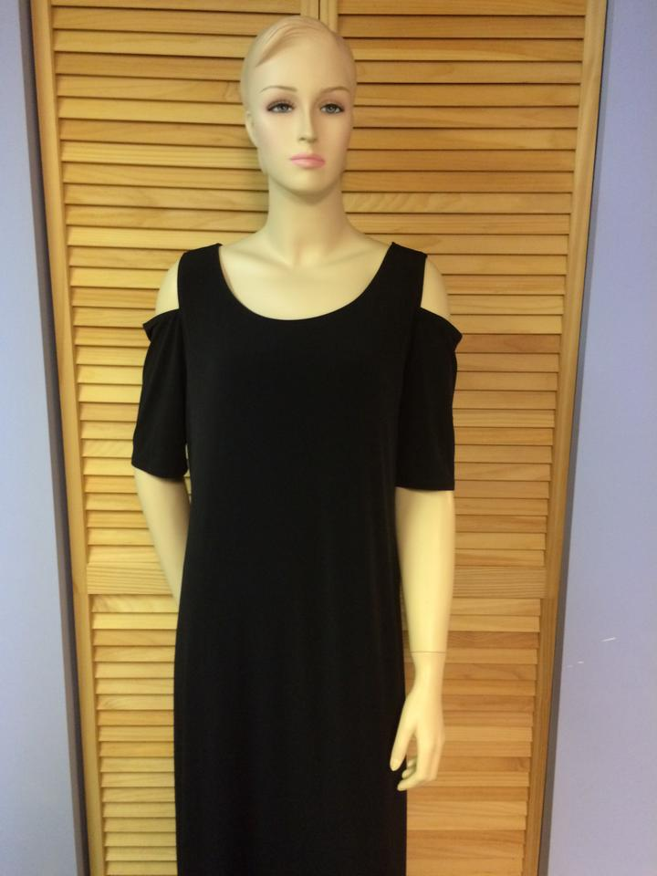Chicos Black Cold Should Long Casual Maxi Dress Size 14 L Tradesy