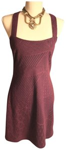 Free People short dress Plum-Burgundy on Tradesy