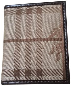 Burberry Leather Trimmed Photo Picture Frame wallet