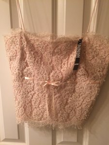 Laundry by Shelli Segal Top Peach/Nude