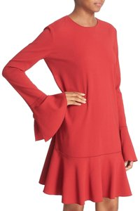 Theory Sleeves Flounce Dress