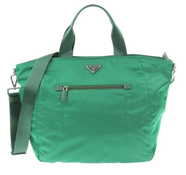 Item - Convertible Green Canvas Tote