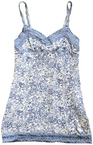 abercrombie kids Lace Vintage Camisole Top blue and white