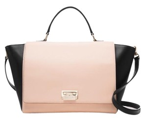 Kate Spade Satchel in Black and Soft Rosetta