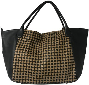 Suarez Tote in Black/Brown