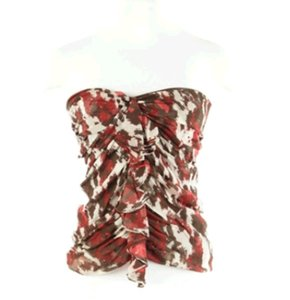 Robert Rodriguez Summer Camo Camouflage Monarch Halter Top
