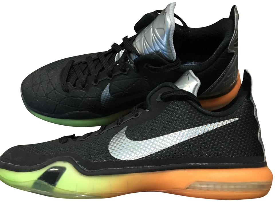 f04a059fb29 Nike Kobe X Asg Black Volt Orange Basketball Black  Volt  Orange Athletic  ...