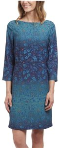 Marchesa Voyage Ombre Spring Shift Chic Dress