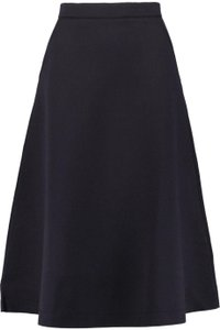être cécile High-waist Scuba Skirt Navy