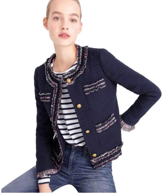 J.Crew Like New Liberty Trim Lady Jacket Size 6 (S) J.Crew Like New Liberty Trim Lady Jacket Size 6 (S) Image 1