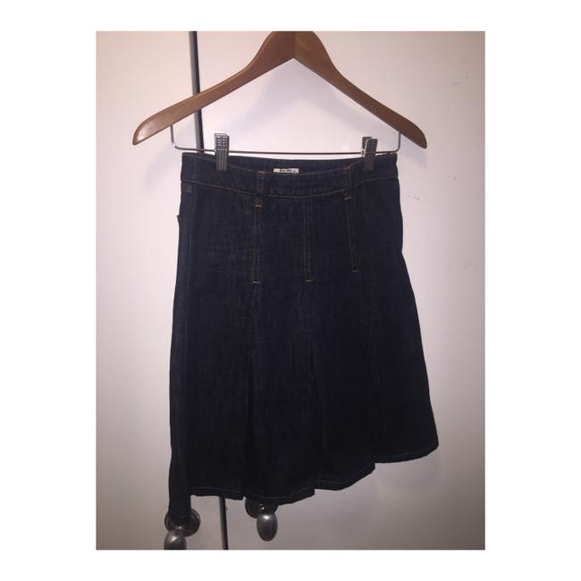 Miu Miu Denim Skirt Size 00 (XXS, 24) Miu Miu Denim Skirt Size 00 (XXS, 24) Image 1