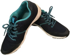 Vionic Sneaker Mesh Lace Up Navy Athletic