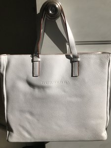 Burberry London Tote in White