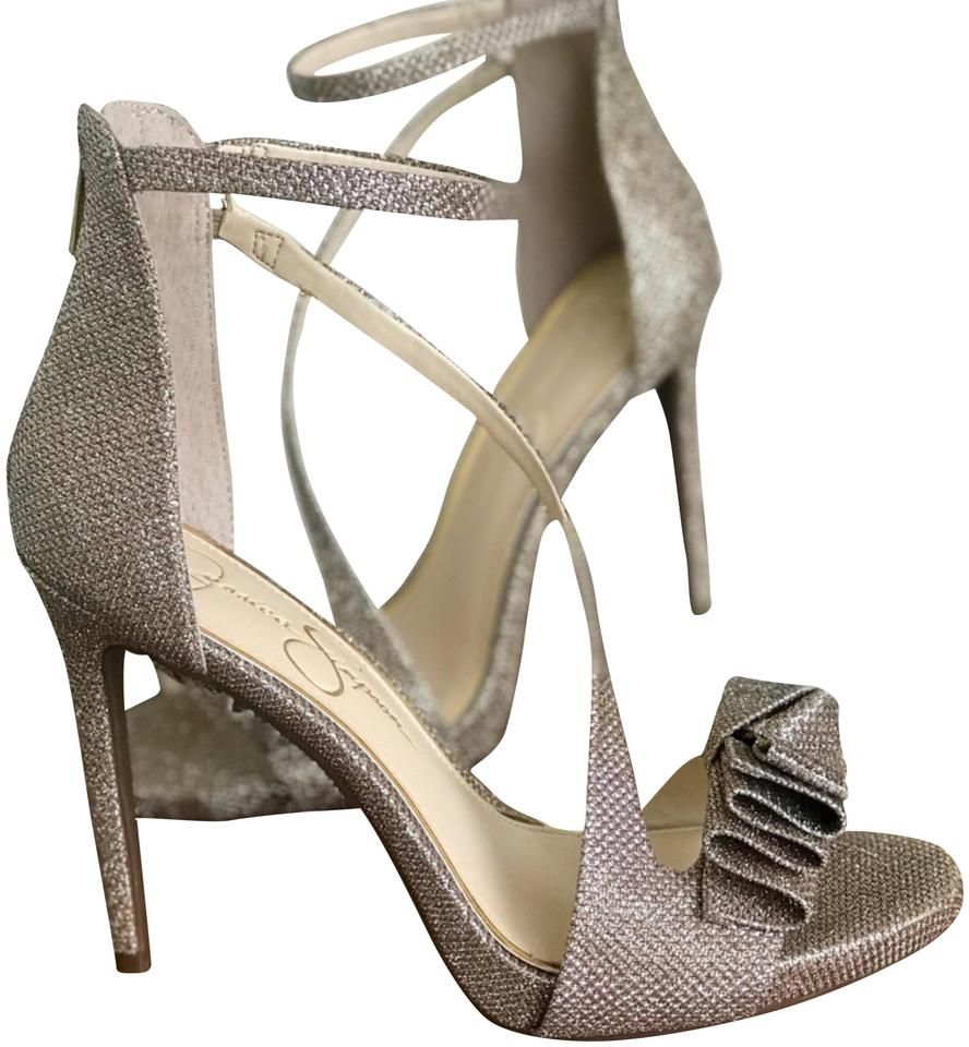 631c4bc257c Jessica Simpson Champagne Or Rose Gold Remyia Formal Shoes Size US 8 ...