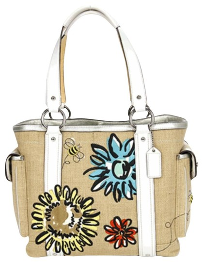 Preload https://img-static.tradesy.com/item/23460860/coach-limited-edition-bumble-bee-linen-straw-tote-0-3-540-540.jpg