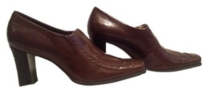 Franco Sarto Size 8 Warm Brown Pumps
