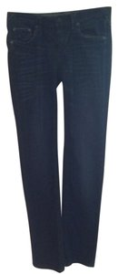 Stitch's Casual Straight Leg Jeans-Distressed