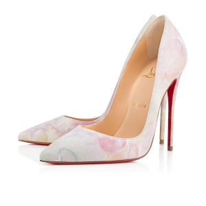 43b8bf82aae Christian Louboutin Sokate Kate Pigalle Stiletto Suede Pink Pumps