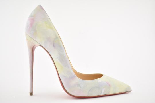 Christian Louboutin Sokate Kate Pigalle Stiletto Suede Pink Pumps Image 1