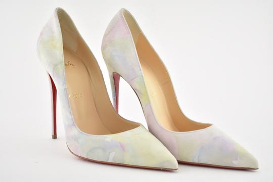 Christian Louboutin Sokate Kate Pigalle Stiletto Suede Pink Pumps Image 3